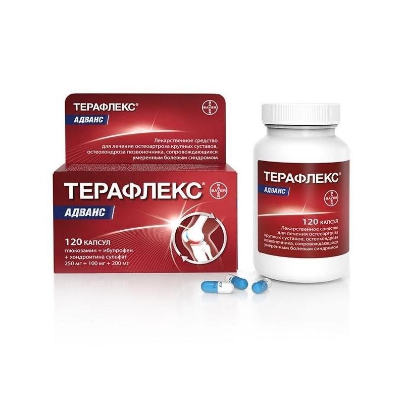 Pentru dureri articulare capsule teraflex Dureri de spate de la teraflex
