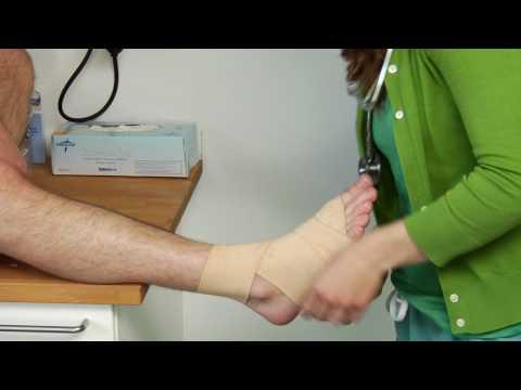 pansament pentru deteriorarea articulației gleznei articulațiile deformate de artroză
