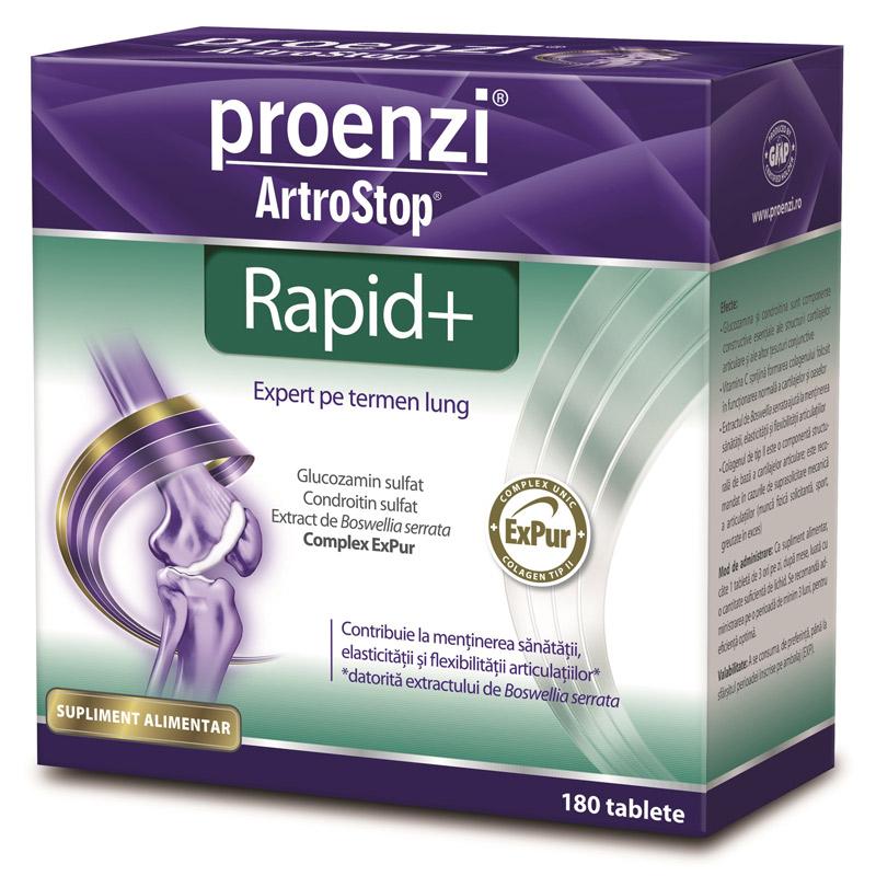 Glucozamina, Condroitina si Acid Hialuronic, 60 capsule (Articulatii) - centru-respiro.ro
