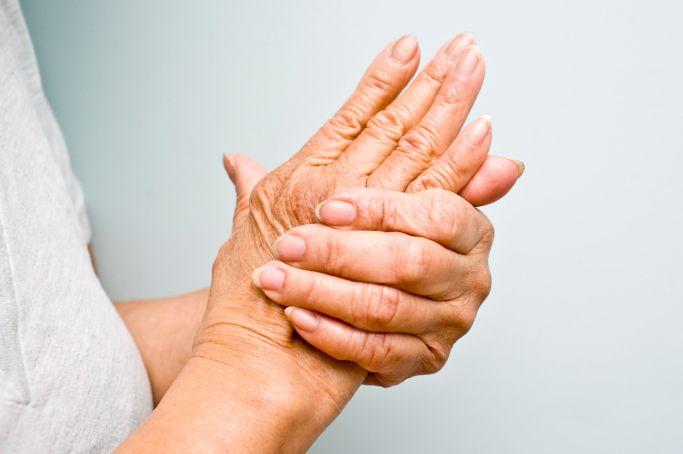 boala brusc a articulațiilor mâinilor)
