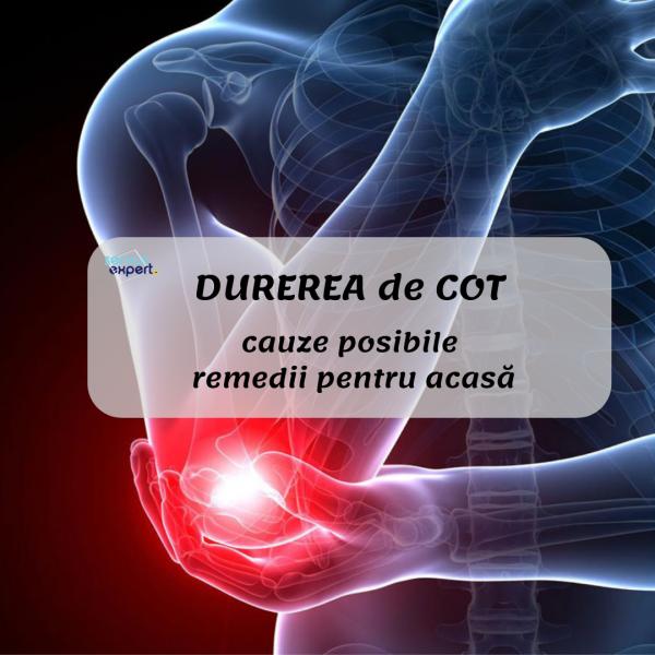 durere în articulațiile cotului când este apăsat