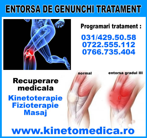 cum să tratezi entorsa genunchiului)
