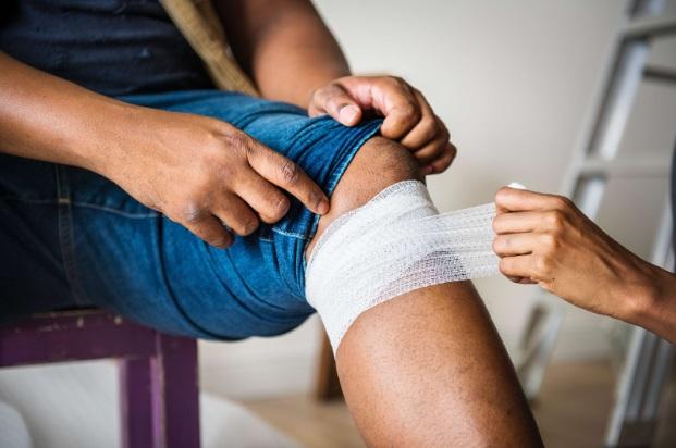 inflamația genunchiului de prim ajutor