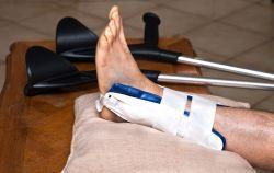 antecedente medicale cu fractură de gleznă)