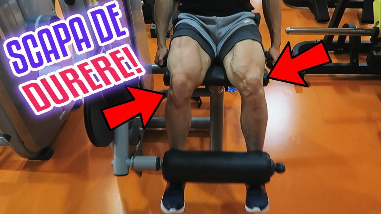 fitness și dureri articulare)