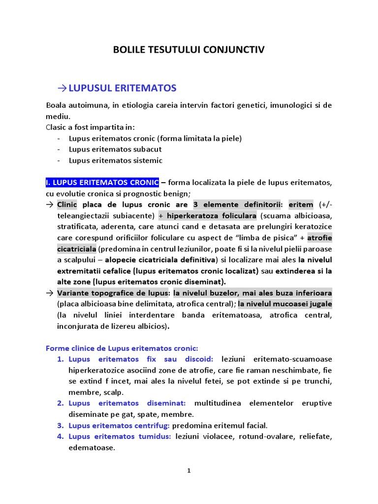 boală sistemică infecțioasă-alergică a țesutului conjunctiv)