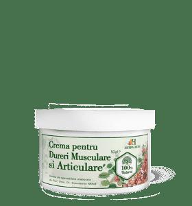 Cremă pentru masaj dureri musculare, articulare și osoase : Farmacia Tei