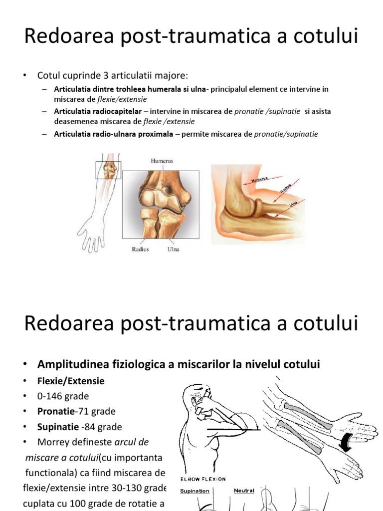 articulația ulnară a tratamentului de gradul II)