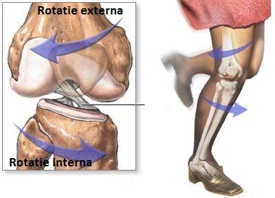 ruperea ligamentului simptomelor articulației genunchiului și tratament