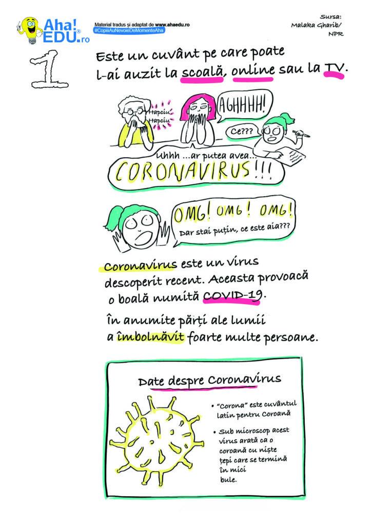 Cum vorbim cu copiii de vârste mici despre noul coronavirus | UNICEF Moldova