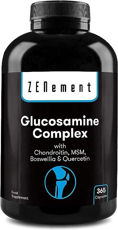 complex de glucozamină complex de condroitină 60 capsule)