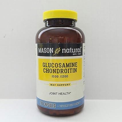 condroitină naturală și glucozamină