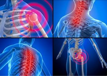 inflamație articulară în diferite locuri)