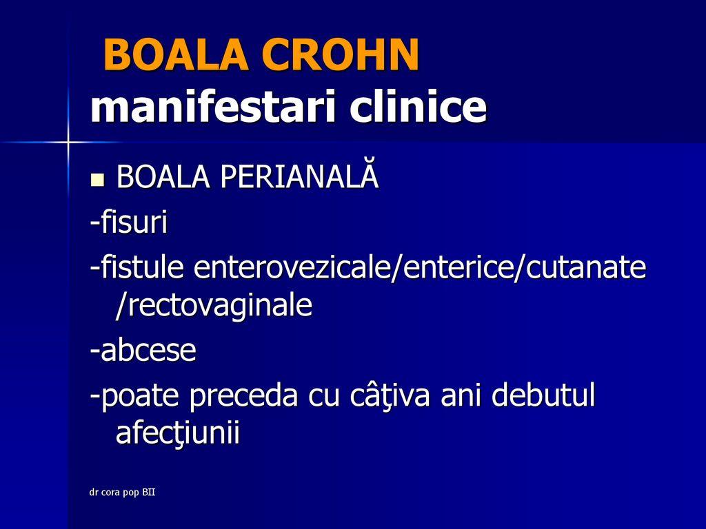 Cu boala Crohn, articulații