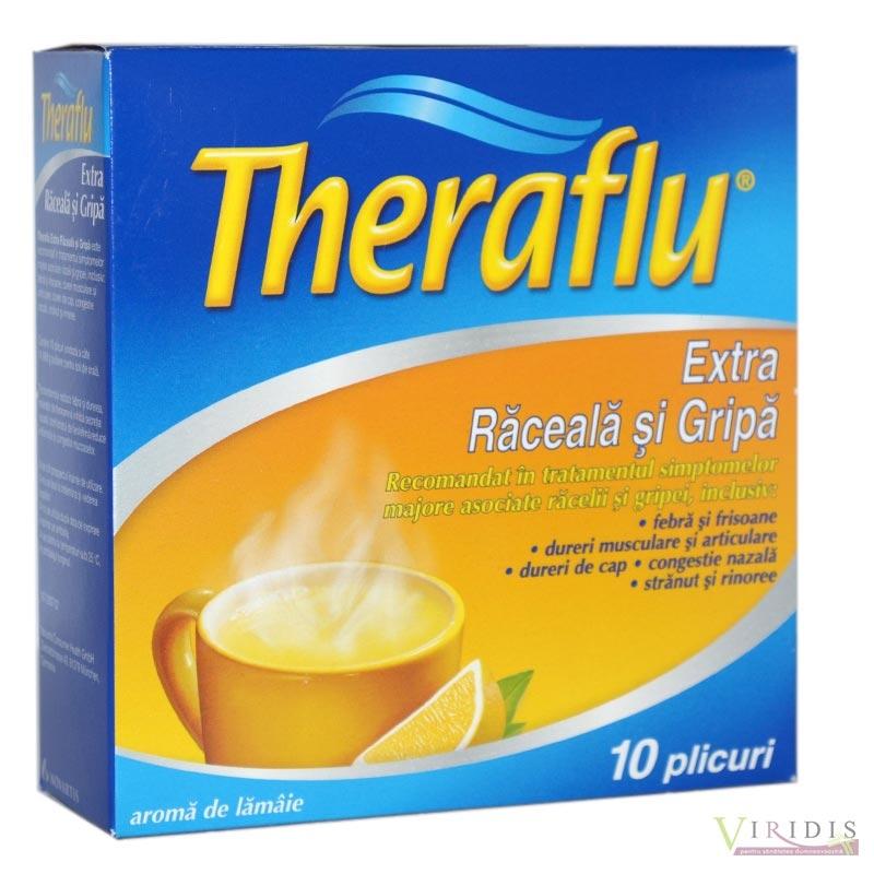 Teraflu din dureri articulare. Theraflu Sinus raceala si gripa, 10 plicuri, Gsk : Farmacia Tei