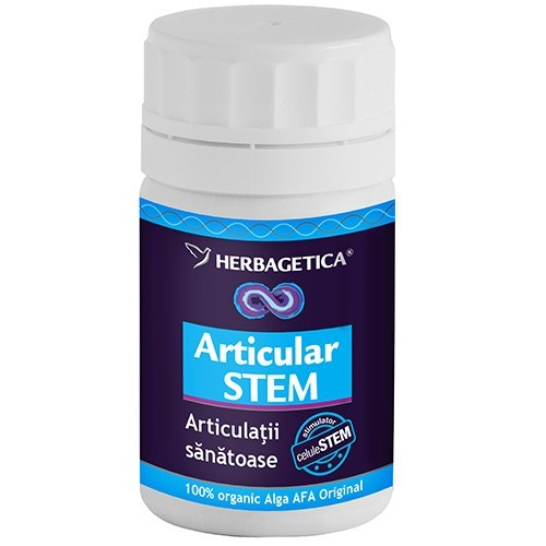 Articular Stem - Herbagetica, 60 capsule (Articulatii) - centru-respiro.ro