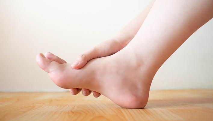 Bursita picioarelor