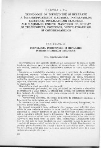 repararea sulfului și a îmbinărilor)