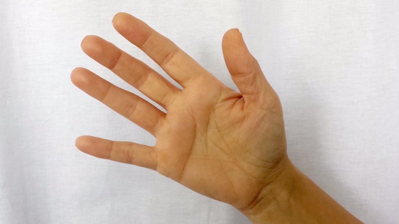 durere în articulațiile degetului mare ale palmelor)
