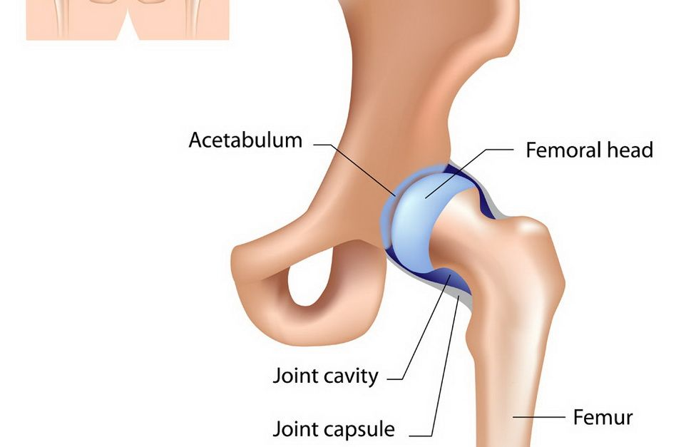 după întindere, articulația șoldului doare articulații pe picioarele unui bărbat rănit