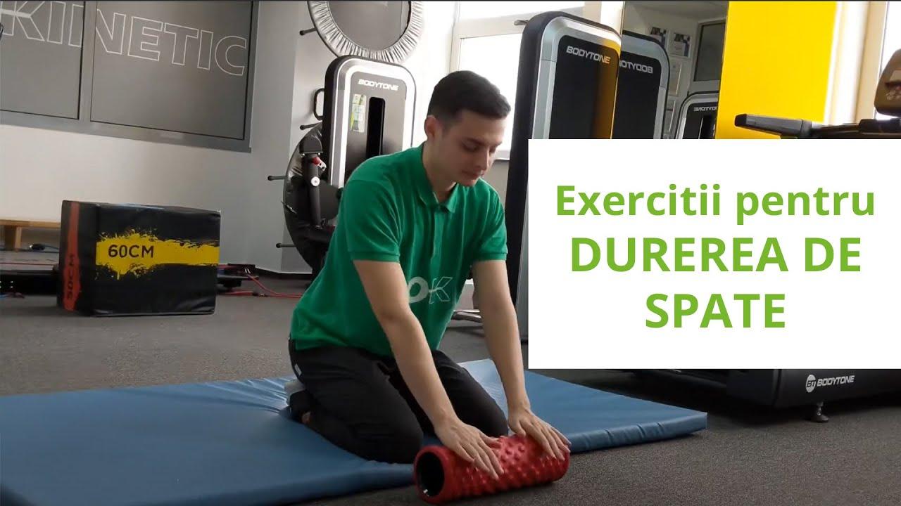 un set de exerciții de tratament al artrozei