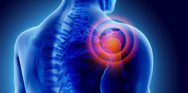 dureri în articulația umărului atunci când inhalați)