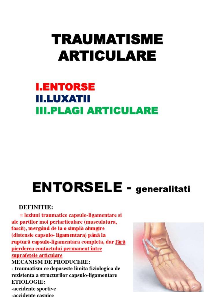clasificarea leziunilor de gleznă)