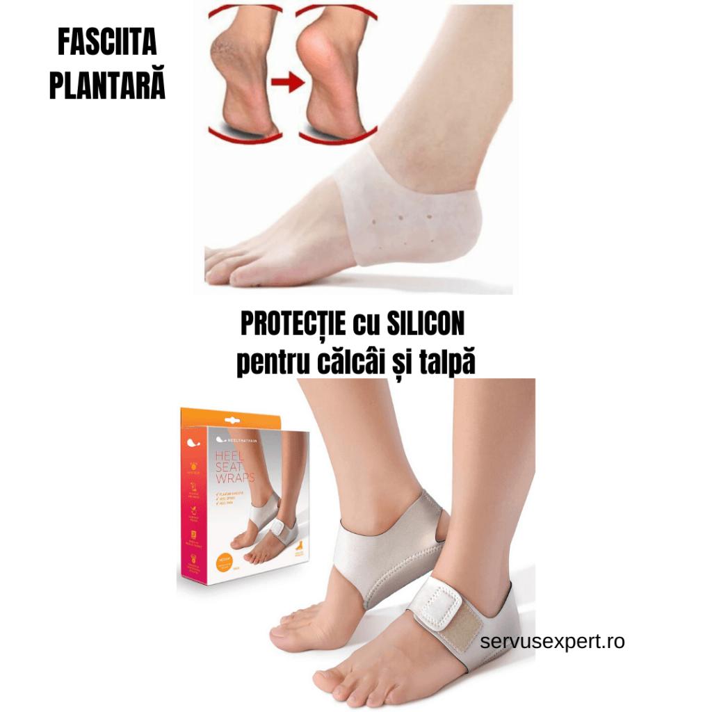 picior dureros sub călcâi și articulație)