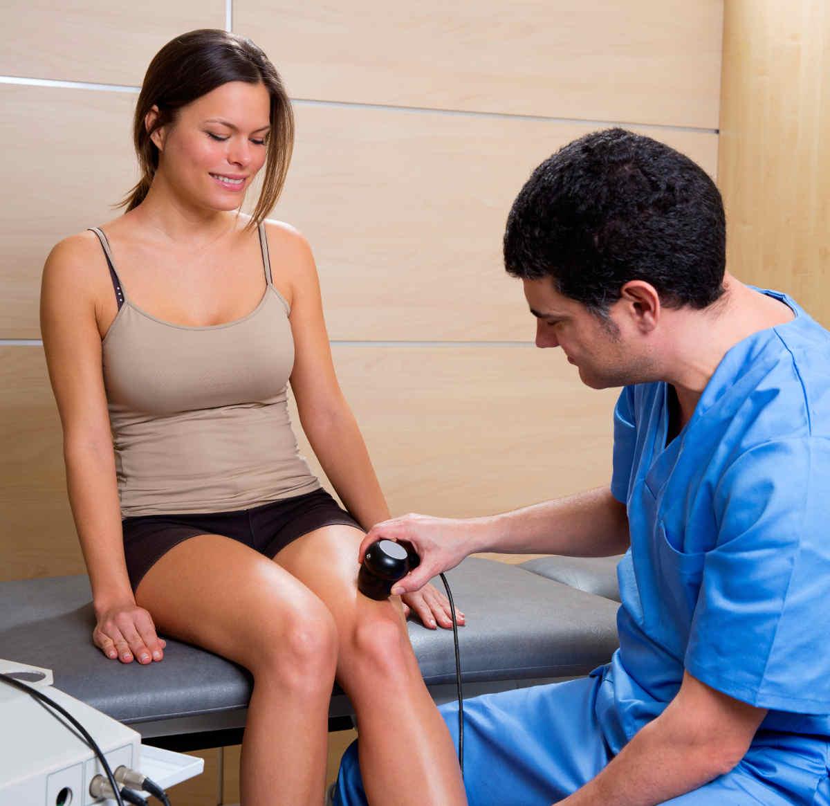 Tratament cu articulații cu ultrasunete - Durere de Genunchi - Cauze, Tratament & Remedii Naturiste