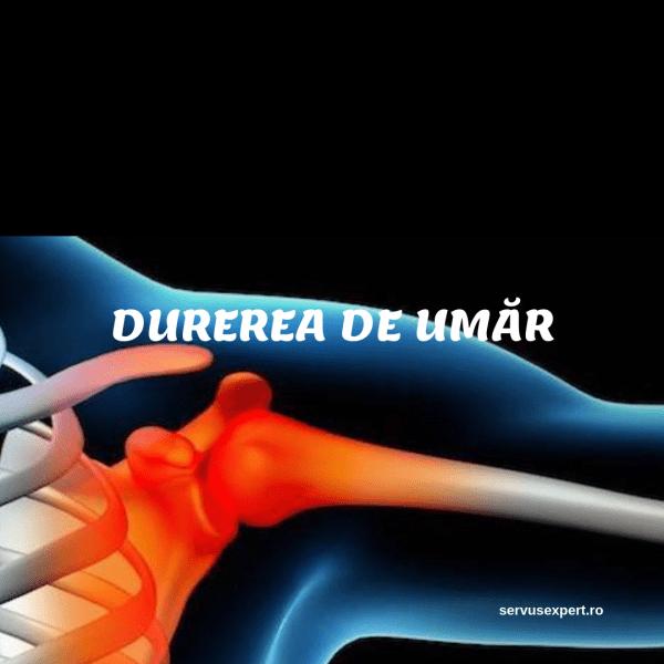 blochează durerea în articulația umărului ce este