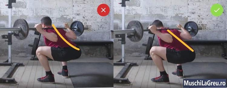 făcând articulații de powerlifting ranit