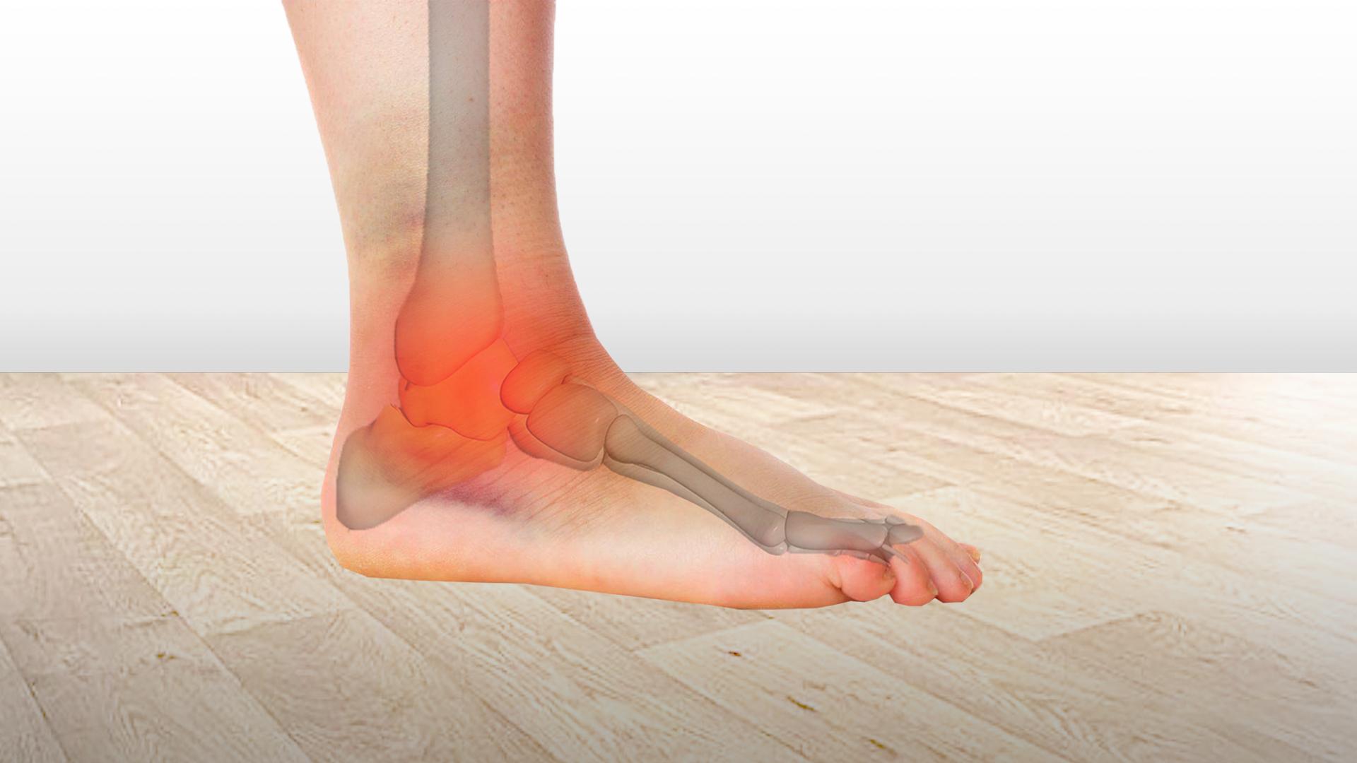 distrugerea tratamentului articulației piciorului