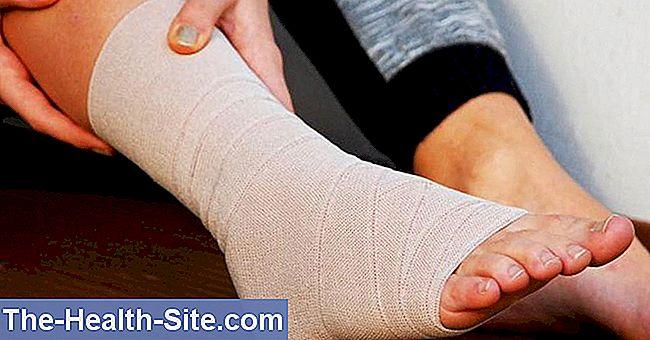 lacrima timpului de tratament al ligamentelor gleznei)