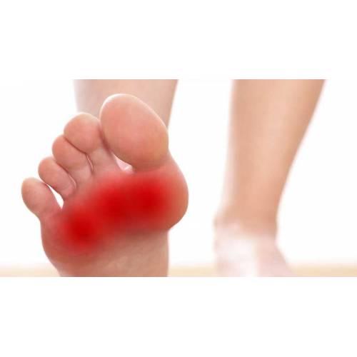 dureri de glezne și degetele de la picioare