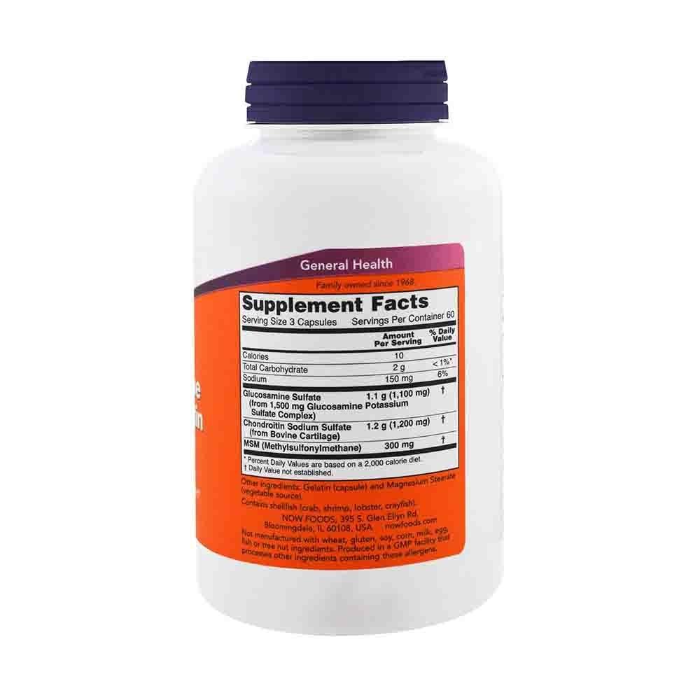 vitamine cu glucozamină și condroitină pentru om