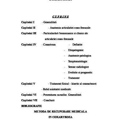 coxartroza tratamentului articulației șoldului ce este)