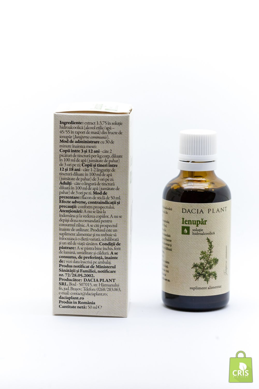 Tinctura de Ienupar - Dacia Plant, 50 ml (Infectii urinare) - centru-respiro.ro