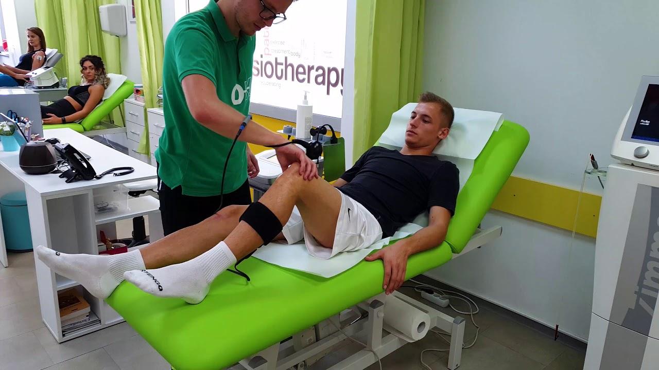 tratament fizioterapeutic al genunchiului