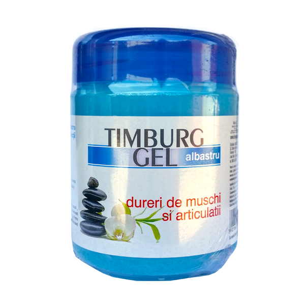 Timburg Gel albastru dureri de muschi si articulatii- centru-respiro.ro
