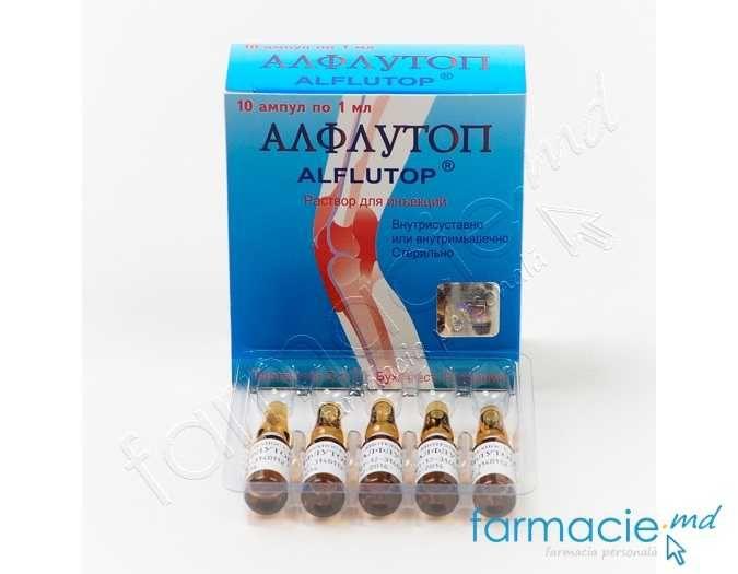 injecții pentru durere în articulațiile alflutop