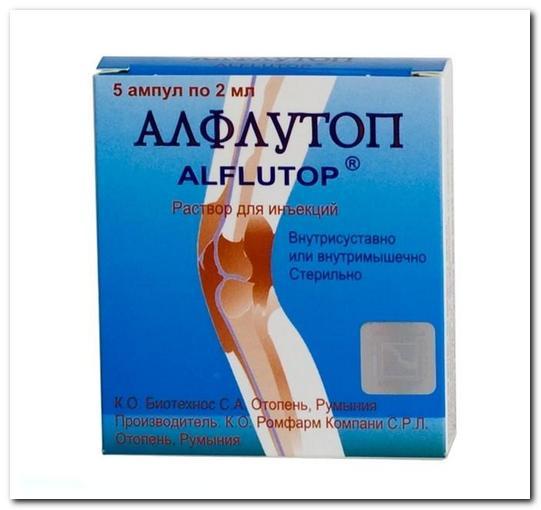 preparate intravenoase pentru osteochondroză)