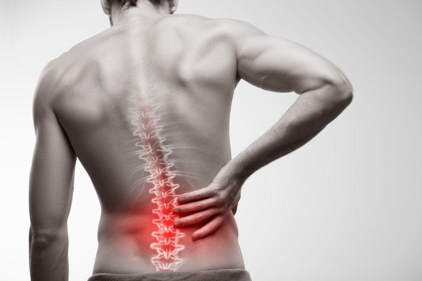 articulațiile și coloana vertebrală sunt foarte dureroase