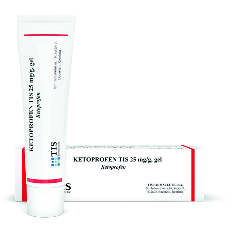 Gel de ketoprofen pentru dureri articulare