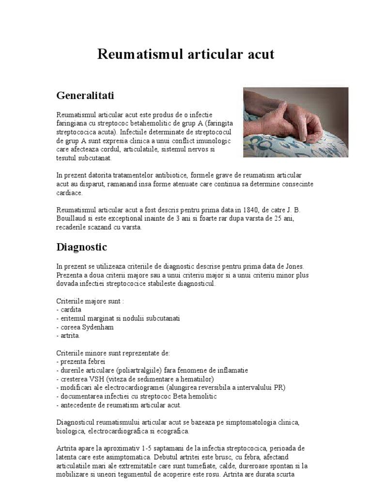 Articulațiile provoacă durere după prednison