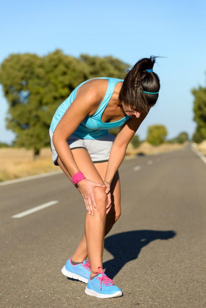 dureri de genunchi în timpul sportului)