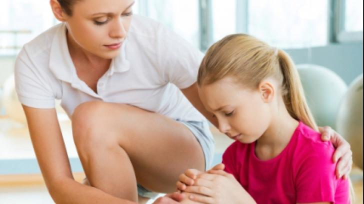 durere la glezne la copii