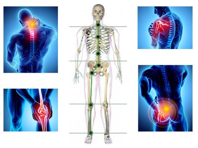Mușchii și articulațiile doare Dureri generalizate