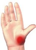 dureri în articulația degetului mic de pe braț)