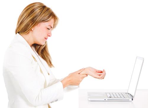 Dureri articulare atunci când lucrați cu un mouse