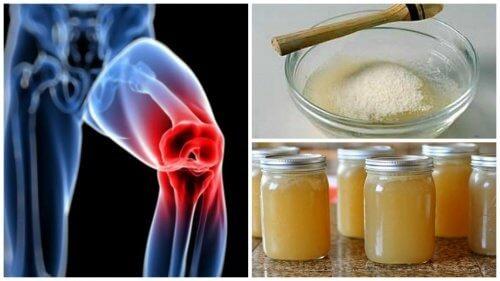 Gelatină împotriva prescripției durerii articulare